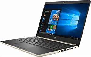 "2019 Flagship HP 14"" HD WLED Business Laptop, Intel Dual-Core i3-7100U 2.4GHz 4GB DDR4 128GB SSD HDMI USB 3.1 Type-C 802.11bgn HD Webcam Bluetooth 4.2 Win 10"