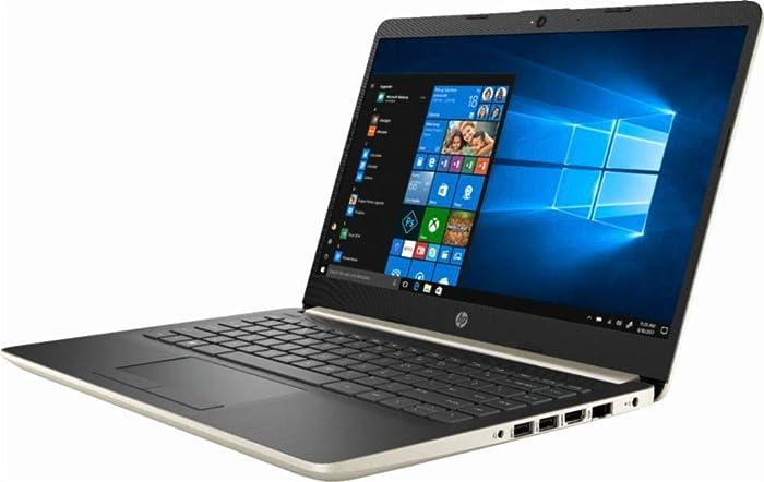 "2019 Flagship HP 14""HD WLED Business Laptop, Intel Dual-Core i3-7100U 2.4GHz 4GB DDR4 128GB SSD HDMI USB 3.1 Type-C 802.11bgn HD Webcam Bluetooth 4.2 Win 10"