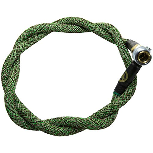 AMPED Airsoft Amped Line   Heavy Weave for PolarStar, Wolverine, and Redline HPA Units 42 Inch Jungle Heavy