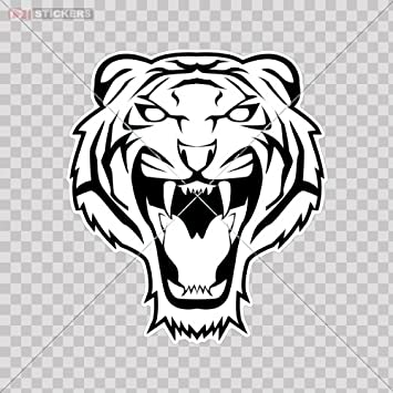 TIGER Save the Tigers Vinyl Decal Car Wall Truck Sticker CHOOSE SIZE COLOR