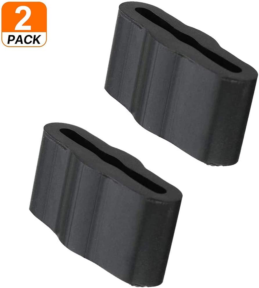 8268961 Dishwasher Sleeve Friction Pads for Whirlpool Kenmore Dishwasher, Replaces WP8268961 PS731965 Dishwasher Friction Pad Pack of 2