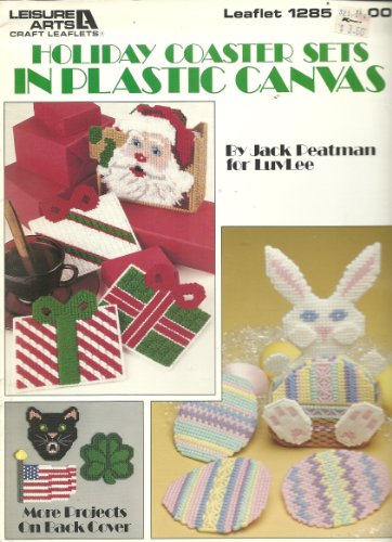 (Holiday Coaster Sets in Plastic Canvas (Craft Book))