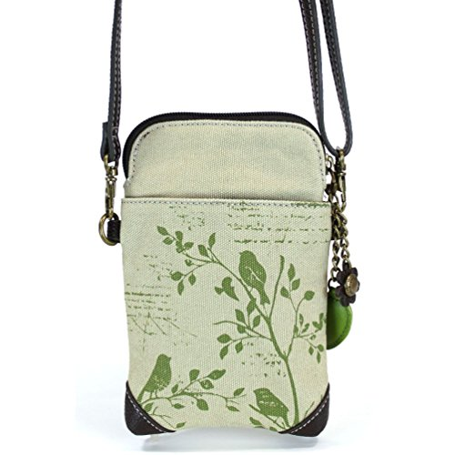 Pictures of Chala Crossbody Cell Phone Purse - Women Canvas 927PB0 5