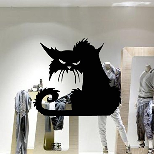 Gbell 13D Happy Halloween Household Room Floor Wall Sticker Mural Decor Decal Removable ()