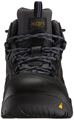 Scaldacollo Da Lavoro Uomo Braddock Mid Wp Soft-toe, Corvo / Blu Estate, 11,5 D Us
