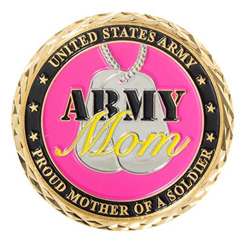 United States Army Proud Mother of a Soldier Army Mom Challenge Coin