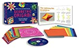 Geometric Origami Kit: The Art of Modular Paper Sculpture [Origami Kit with Book, 48 Papers, & DVD]