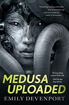 Medusa Uploaded by Emily Devenport speculative fiction book reviews