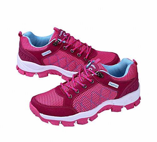 Ben Sports Womens Cool Outdoor Mountain Trail Hiking Sneakers Shoes Rose 23SvLO