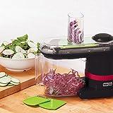 vegetable julienne slicer - Dash Electric Mandoline & Food Slicer, Black