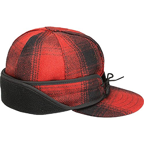 (Stormy Kromer Men's Rancher Insulated Cap,Red,7.625)