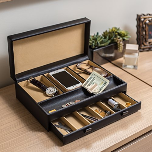 stock your home luxury men 39 s dresser valet organizer for