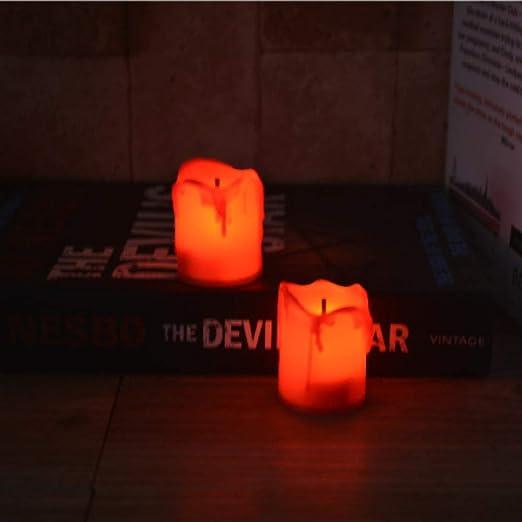 wangZJ Tears llevó velas electrónicas/velas de cumpleaños ...