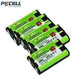 5 Pack Cordless Phone Battery Ni-MH 5/4AAA 800mAh 3.6V for Panasonic HHR P104
