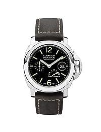 NEW Panerai Luminor Power Reserve Automatic Acciaio Black Dial Men's Watch PAM01090