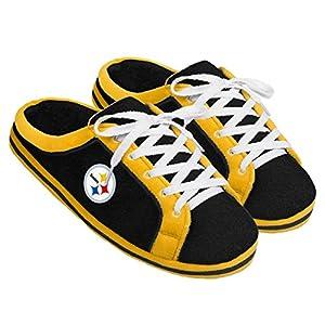 Pittsburgh Steelers Sneaker Slide Men's Slippers at Steeler Mania