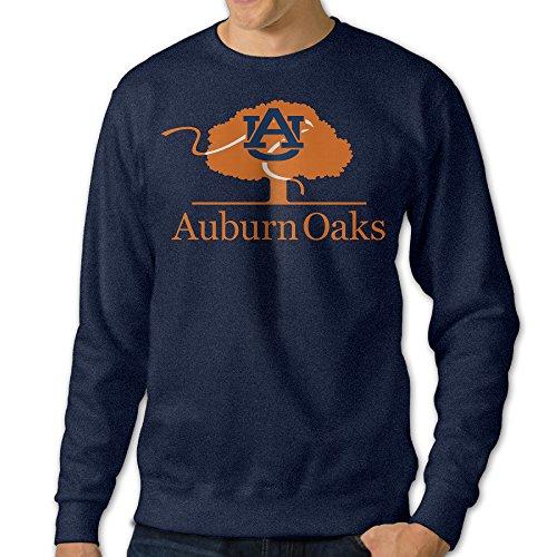 AUSIN Men's Crew Neck Sweater Auburn University Navy Size XL