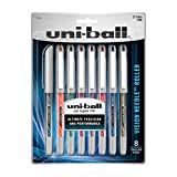 uni-ball Vision Needle Rollerball Pens, Fine Point (0.7mm), Assorted Colors, 8 Count - 1734916