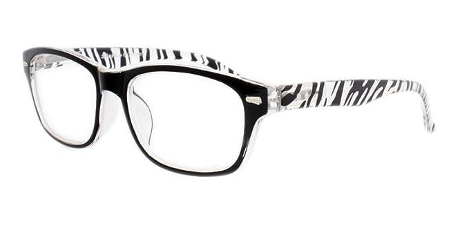 Junge Brauch eine große Auswahl an Modellen Strike Lesebrille Lesehilfe mit Flexbügeln in Zebra Optik ...