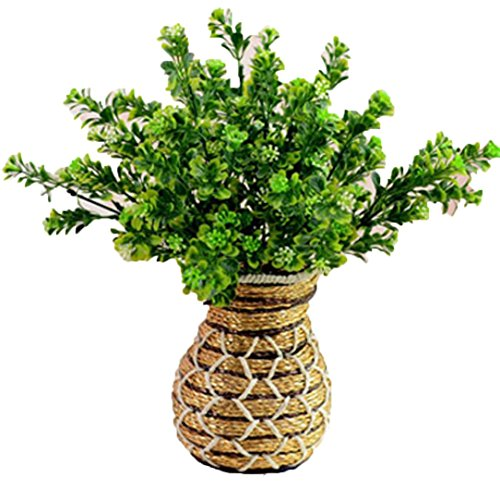 DEESEETM-3pcs-Artificial-Fake-Flower-Bush-Bouquet-Home-Wedding-Decor
