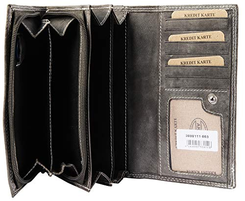 Portafoglio donna 17x10 grigio Akzent da 7wqPapwA
