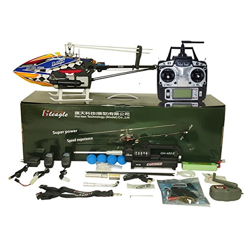 Toy, Play, Fun, Gleagle 480N 2.4G 6CH RC Fuel Helicopter RTF DFC 15-Engine 180CC Gasolin Remote Control Nitro Helicopter/Carbon FiberChildren, Kids, Game