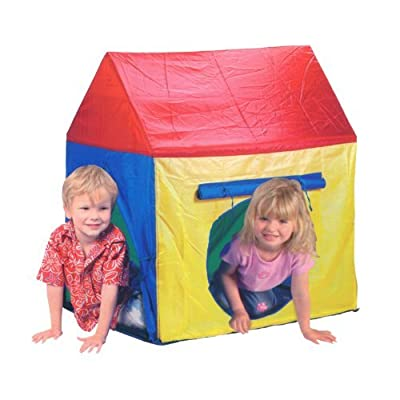 Kids Color Roof House Play Tent Indoor Outdoor: Toys & Games