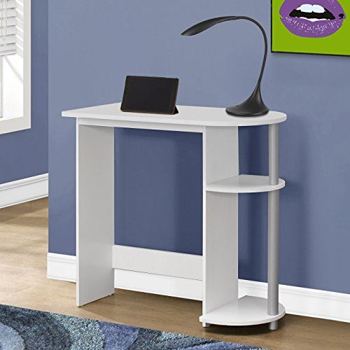 Monarch Specialties I 7116, Juvenile Computer Desk, White, 32'' L by Monarch Specialties
