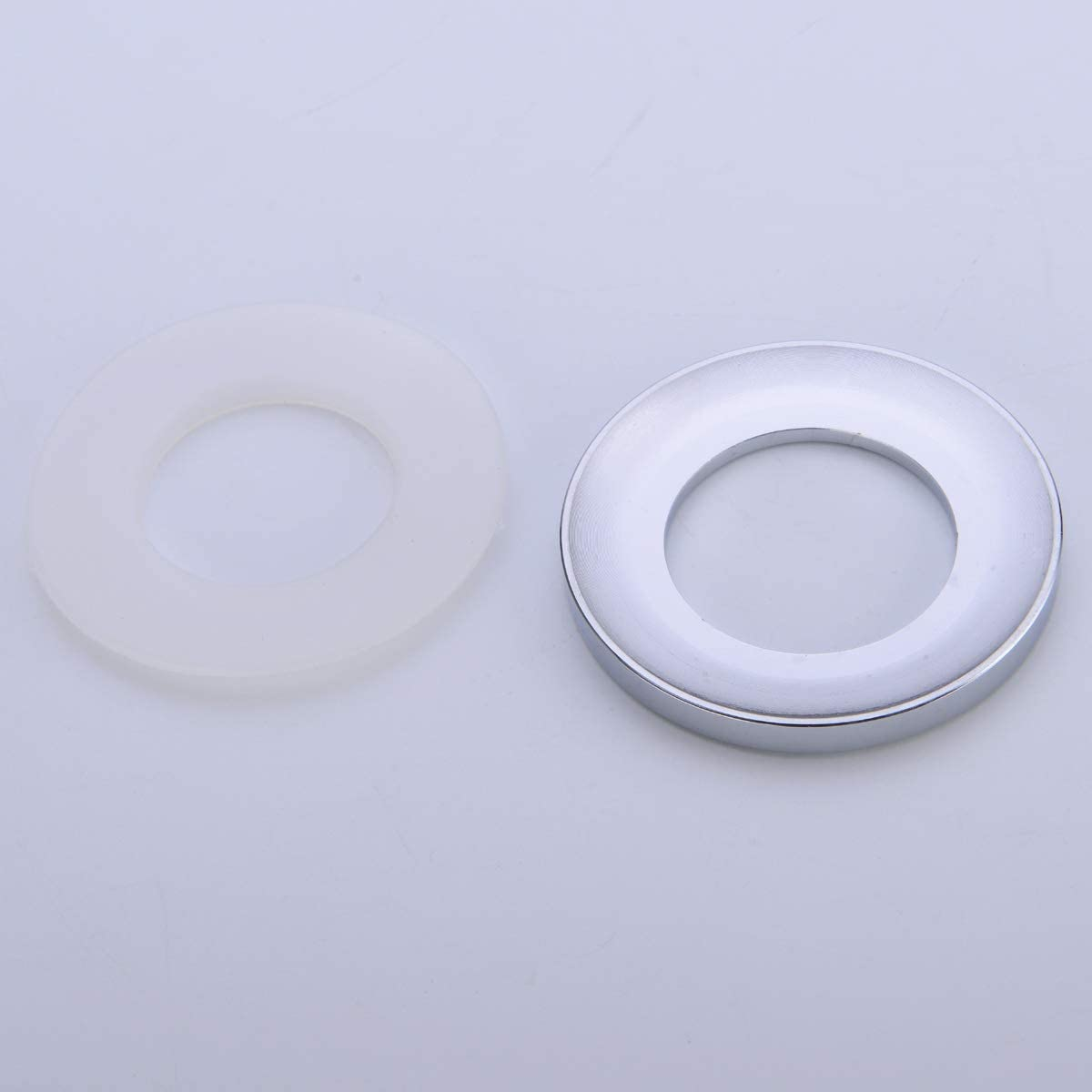 Solid Brass Mounting Ring for Bathroom Glass Vessel Sink 1//3 inch