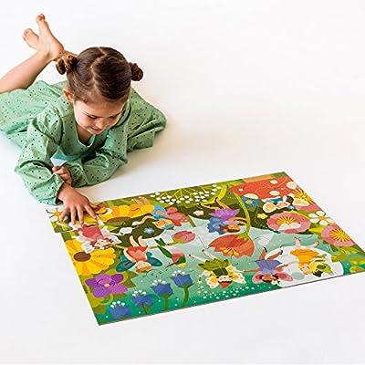 Petit Collage Floor Puzzle, Fairy Garden : Baby