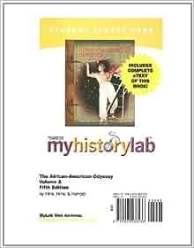 African American Odyssey Combined Volume by Darlene Clark Hine