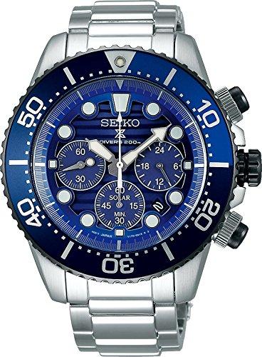 (Seiko Prospex Diver's 200m Special Edition Chronograph Solar Sports SSC675P1)