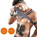 MEILYLA Muscle Toner Wireless Muscle Exercise ABS Trainer Muscle Belt Stimulation Massager For Abdomen/Arm/Leg Training Men & Women Home Office Workout Equipment