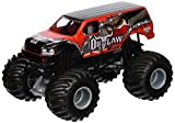 Hot Wheels Monster Jam Iron Outlaw Die-Cast Vehicle, 1:24 Scale