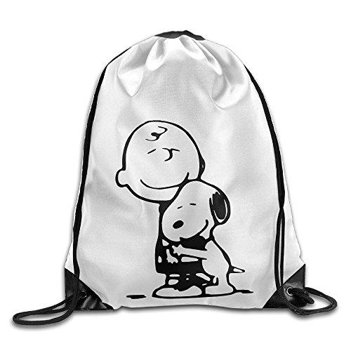 [Bekey Charlie Brown Drawstring Backpack Sport Bag For Men & Women For Home Travel Storage Use Gym Traveling Shopping Sport Yoga] (Lightning Strike Costume)