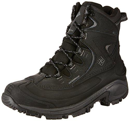 7484f096d52 Columbia Men's Bugaboot II Snow Boot, Black, Charcoal, 8 D US
