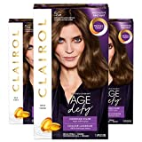 Clairol Age Defy Permanent Hair Color, 5G Medium Golden Brown, 3 Count
