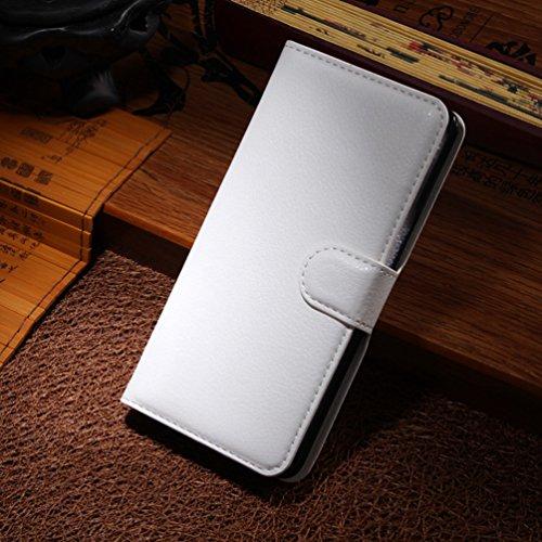 Manyip Funda TCL S960T Alcatel One Touch IDOL X+,Caja del teléfono del cuero,Protector de Pantalla de Slim Case Estilo Billetera con Ranuras para Tarjetas, Soporte Plegable, Cierre Magnético(JFC3-2) D