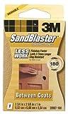 3M 20907-180 180 Grit SandBlaster™ Between Coats Sanding Sponge Block
