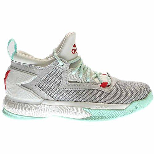 Adidas D LILLARD 2 J mens fashion-sneakers B72852 Light Solid Grey JFLZ8viO1