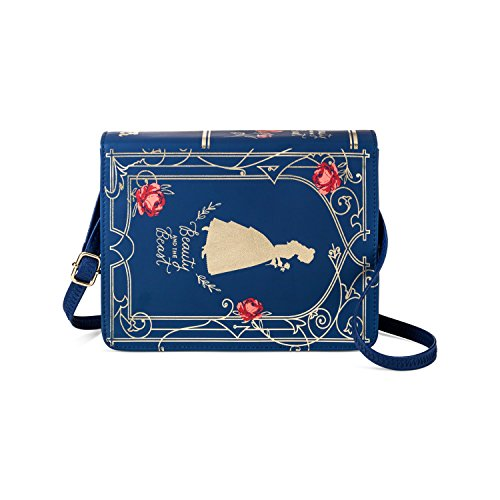 Walt Disney Beauty And The Beast Book Purse / Handbag - Belle Rose Belle Rose Purse