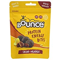 Bounce Protein Energy Bites Cacao Orange, 90 g, Pack of 6