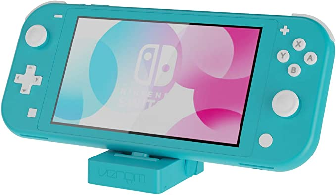 Venom Switch Lite Charging Stand - Turquoise (Nintendo Switch Lite ...