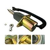 KEYOPO Shutdown Shutoff Cutoff Solenoid 24V 4063712 6743-81-9141 SA-5030-24 for Komatsu PC300-7 PC360-7 PC350-7 Cummins 6CT 8.3L