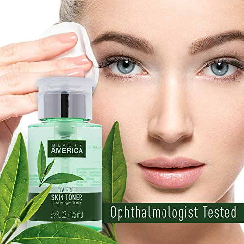 Beauty America Tea Tree Facial Toner, No-Leak, Push-Top Pump, 2 x 5.9 oz by Beauty America (Image #5)