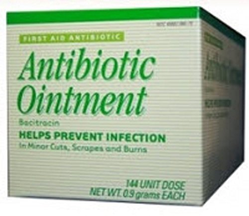Strength First Aid Antibiotic Ointment (Perrigo Company - First Aid Antibiotic - 0.9 Gram - Ointment - Individual Packet - 144/Box)