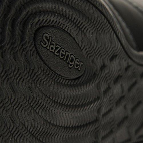 Slazenger , Baskets mode pour garçon multicolore noir/charbon Taille Unique