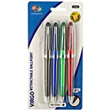 123-Wholesale - Set of 36 Retractable Black Ball Point Pens Set - School & Office Supplies Writing Instruments