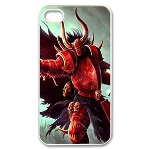 Iphone 4,4S Devil Phone Back Case DIY Art Print Design Hard Shell Protection FG044759