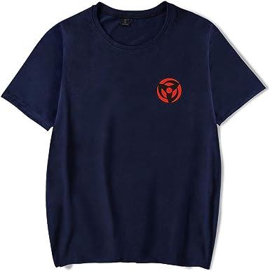 HAOSHENG Unisex Camiseta Naruto Anime Patr/ón Impreso Sudadera con Capucha Deportiva C/ómico Casual Deportiva Ropa